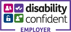 Logo disability confident employer