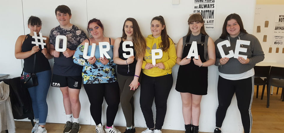#OurSpace #LleNi  - Valleys Kids, Rhydyfelin Youth Club and Sparc.