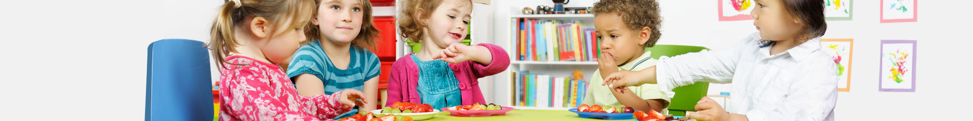 Food and nutrition for childcare providers