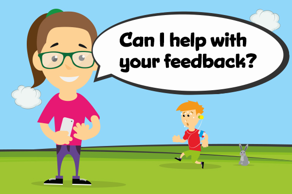 Feedback and complaints for young children