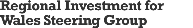 Regional Investment for Wales Steering Group