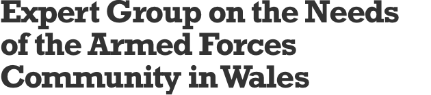 Expert Group on the Needs of the Armed Forces Community in Wales