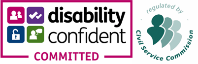Disability confident: committed logo