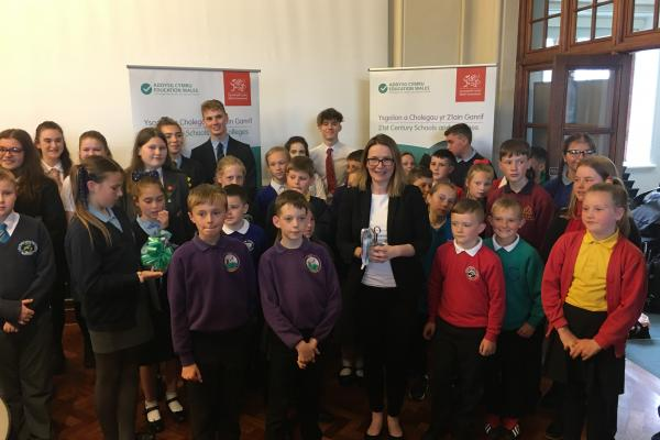 Schools visit Cardiff Bay to celebrate the success of flagship school investment programme