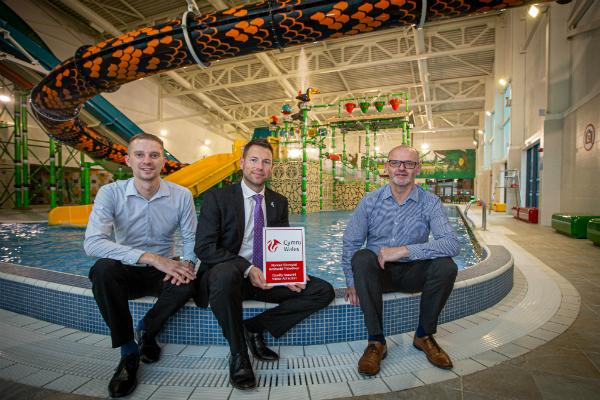 Rhyl's flagship SC2 receives Gold Award