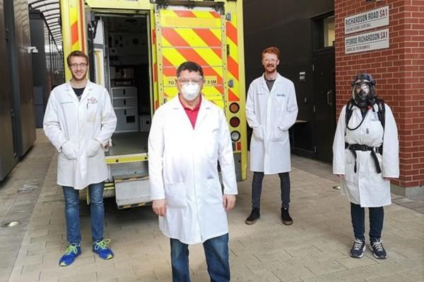 Swansea University helping fight coronavirus by getting ambulances back on the road in rapid time