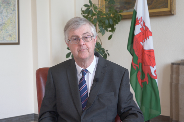 Picture of First Minister Mark Drakeford
