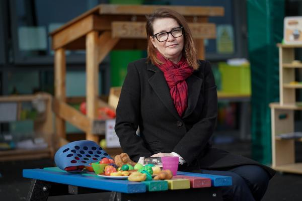 Kirsty Williams, the Education Minister