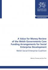 Welsh Social Enterprise Coalition: value for money review of