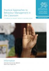 Behaviour management in the classroom: guidance for