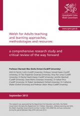 Welsh for Adults teaching and learning | GOV WALES