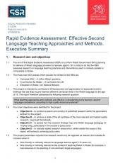 Effective second language teaching approaches and methods